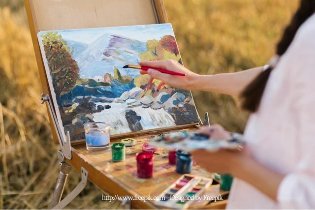 Gemälde Muster
